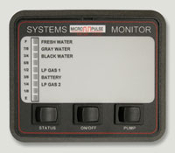 RV System Monitor 3 (part # 500-10050-36)